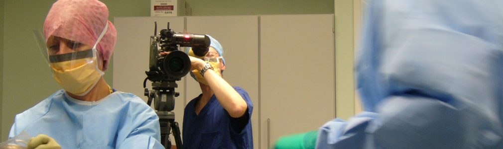 orthopaedic surgery filming video