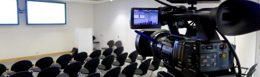 conference shooting, events, filming